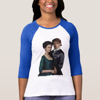 Outlander | Claire And Jamie Damask Portrait T-Shirt
