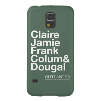 Outlander | Claire, Jamie, Frank, Colum & Dougal Case For Galaxy S5