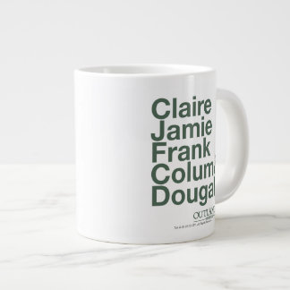 Outlander | Claire, Jamie, Frank, Colum & Dougal Large Coffee Mug