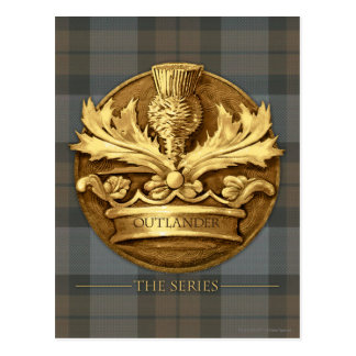 Outlander el | el cardo del emblema de Escocia Postal
