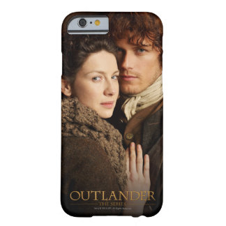 Outlander el | Jamie y fotografía del abrazo de Funda Barely There iPhone 6