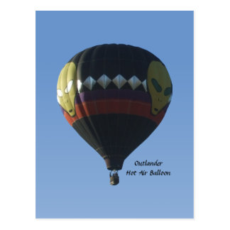 Outlander Hot Air Balloon Postcard