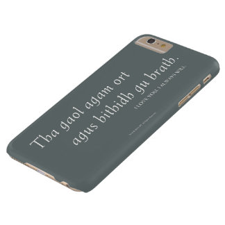 Outlander | I love you. I always will. Barely There iPhone 6 Plus Case