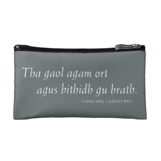 Outlander | I love you. I always will. Cosmetic Bag