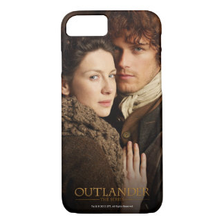 Outlander | Jamie & Claire Embrace Photograph iPhone 7 Case
