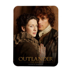 Outlander | Jamie & Claire Embrace Photograph Magnet at Zazzle