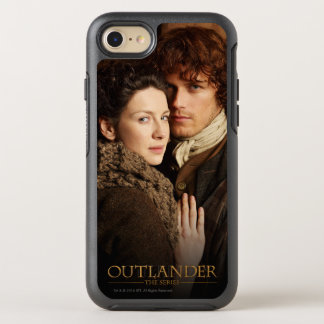Outlander | Jamie & Claire Embrace Photograph OtterBox Symmetry iPhone 7 Case