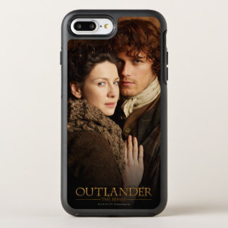 Outlander | Jamie & Claire Embrace Photograph OtterBox Symmetry iPhone 7 Plus Case