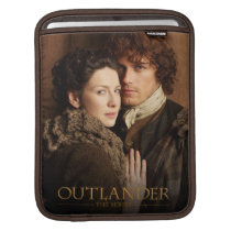 Outlander   Jamie & Claire Embrace Photograph Sleeve For iPads