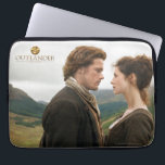 "Outlander | Jamie &amp; Claire Face To Face Laptop Sleeve<br><div class=""desc"">Photographic gallery image of Jamie and Claire face to face in the Highlands,  from Season 1 of the Outlander television series</div>"