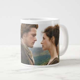 Outlander | Jamie & Claire Face To Face Large Coffee Mug
