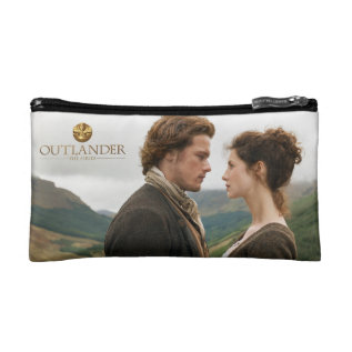 Outlander | Jamie & Claire Face To Face Makeup Bag at Zazzle