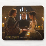 "Outlander | Jamie &amp; Claire&#39;s Wedding Mouse Pad<br><div class=""desc"">Episodic Photograph of Jamie and Claire&#39;s wedding from Season 1 of the Outlander television series</div>"
