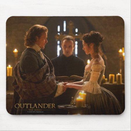 Outlander | Jamie & Claire's Wedding Mouse Pad