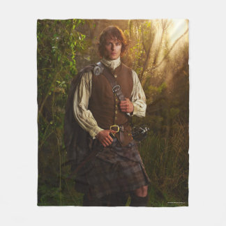 Outlander | Jamie Fraser - In Woods Fleece Blanket
