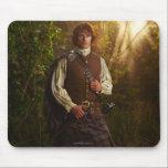 "Outlander | Jamie Fraser - In Woods Mouse Pad<br><div class=""desc"">Jamime Fraser from Outlander in Season 1.</div>"