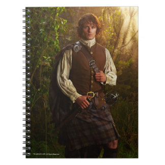 Outlander | Jamie Fraser - In Woods Notebook