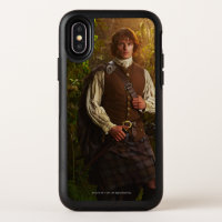 Outlander | Jamie Fraser - In Woods OtterBox Symmetry iPhone X Case