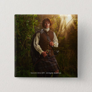 Outlander | Jamie Fraser - In Woods Pinback Button