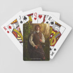 "Outlander | Jamie Fraser - In Woods Playing Cards<br><div class=""desc"">Jamime Fraser from Outlander in Season 1.</div>"