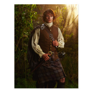 Outlander | Jamie Fraser - In Woods Postcard