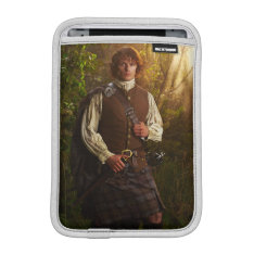 Outlander | Jamie Fraser - In Woods Sleeve For iPad Mini at Zazzle