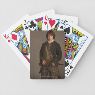Outlander | Jamie Fraser - Kilt Portrait Bicycle Playing Cards