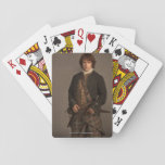 "Outlander | Jamie Fraser - Kilt Portrait Playing Cards<br><div class=""desc"">Portrait of Jamie Fraser in kilt from Season 1 of Outlander.</div>"