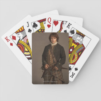 Outlander | Jamie Fraser - Kilt Portrait Playing Cards