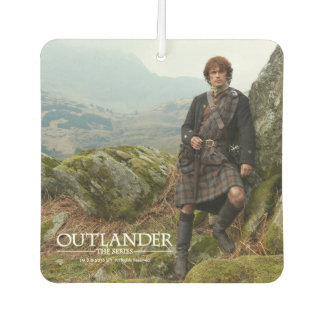 Outlander | Jamie Fraser - Leaning On Rock Air Freshener