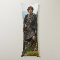 Outlander | Jamie Fraser - Leaning On Rock Body Pillow