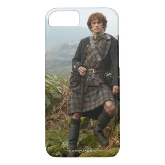 Outlander | Jamie Fraser - Leaning On Rock iPhone 7 Case