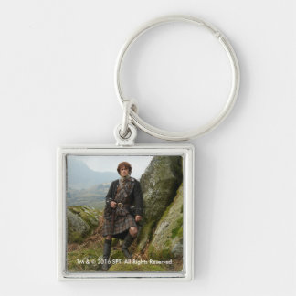 Outlander | Jamie Fraser - Leaning On Rock Keychain