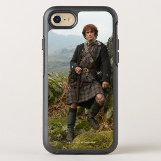 Outlander | Jamie Fraser - Leaning On Rock OtterBox Symmetry iPhone 7 Case