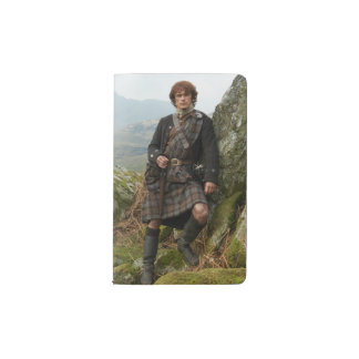 Outlander | Jamie Fraser - Leaning On Rock Pocket Moleskine Notebook
