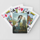 """Outlander   Outlander Season 1 Bicycle Playing Cards<br><div class=""""desc"""">Key art image from the first half of Season 1 of Outlander the television series</div>"""