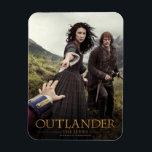 "Outlander | Outlander Season 1 Magnet<br><div class=""desc"">Key art image from the second half of Season 1 of Outlander the television series</div>"
