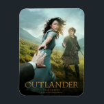 "Outlander | Outlander Season 1 Magnet<br><div class=""desc"">Key art image from the first half of Season 1 of Outlander the television series</div>"