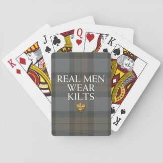 Outlander | Real Men Wear Kilts Playing Cards
