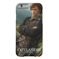 Outlander | Reclining Jamie Fraser Photograph Barely There iPhone 6 Case