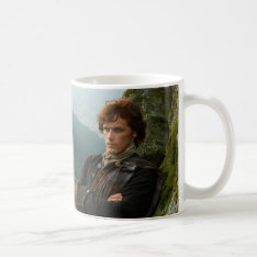Outlander | Reclining Jamie Fraser Photograph Coffee Mug at Zazzle