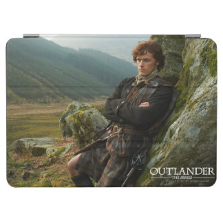 Outlander | Reclining Jamie Fraser Photograph iPad Air Cover