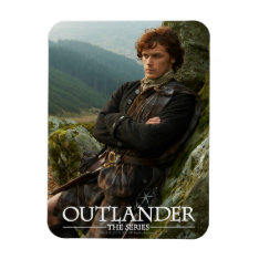 Outlander | Reclining Jamie Fraser Photograph Magnet at Zazzle