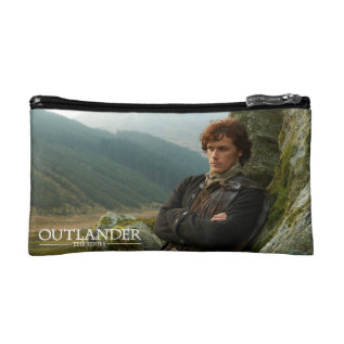 Outlander | Reclining Jamie Fraser Photograph Makeup Bag at Zazzle