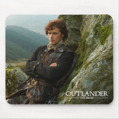 Outlander | Reclining Jamie Fraser Photograph Mouse Pad at Zazzle