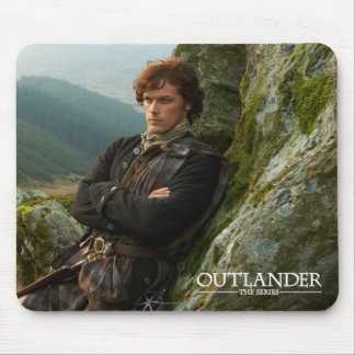 Outlander   Reclining Jamie Fraser Photograph Mouse Pad