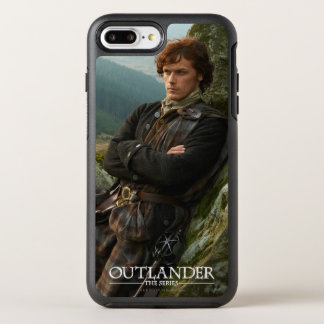 Outlander | Reclining Jamie Fraser Photograph OtterBox Symmetry iPhone 7 Plus Case