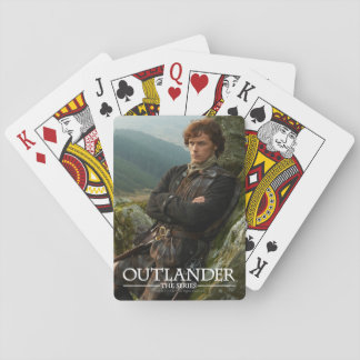 Outlander | Reclining Jamie Fraser Photograph Playing Cards