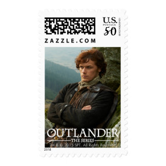 Outlander | Reclining Jamie Fraser Photograph Postage