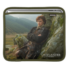 Outlander | Reclining Jamie Fraser Photograph Sleeve For iPads at Zazzle